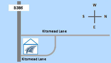 map - Kitsmead Lane